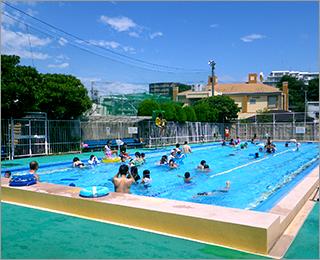 大坂下公園プールイメージ